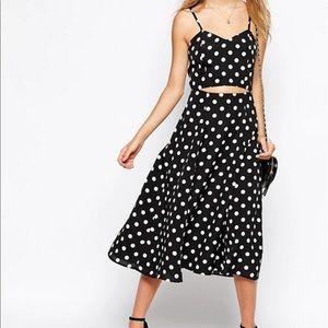 ASOS Tall Polka Dot Dress